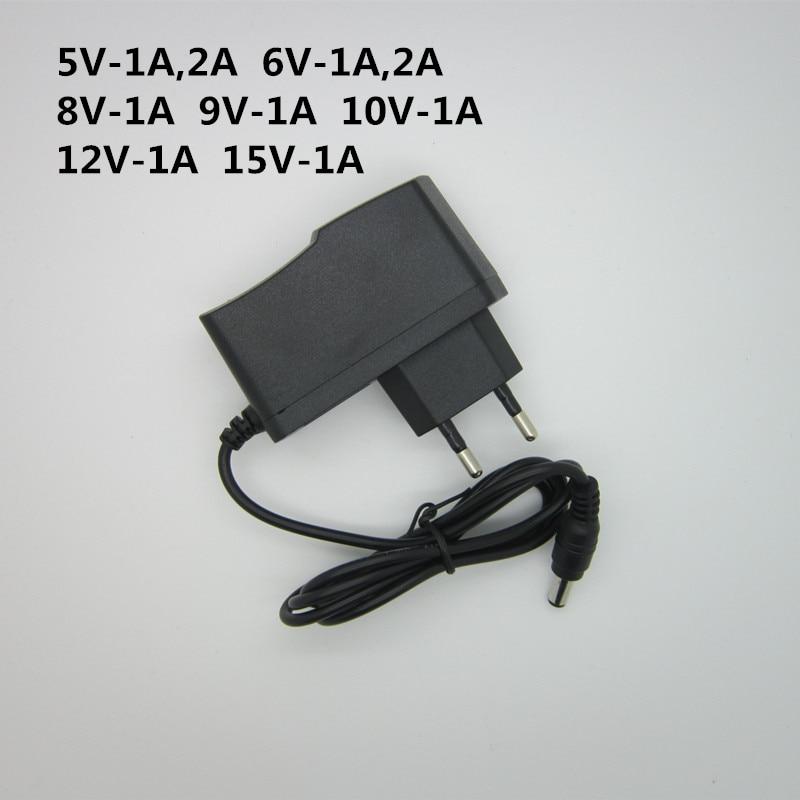 AC 110-240V DC 5V 6V 8V 9V 10V 12V 15V 0.5A 1A 2A 3A Универсальный адаптер питания зарядное устройство адаптер ЕС США светодиодный светильник