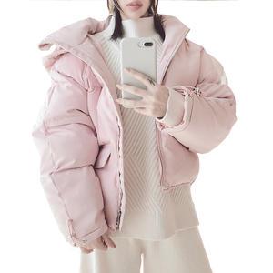 6ff7ec37ff4 OLN Short Down Winter Korean Coats Padded Woman Clothes