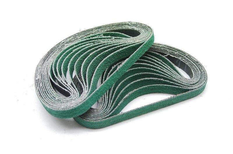 New 15pcs 330*10mm Zirconium Corundum Belt Abrasive Sanding Belt For Metal Belt Grinder 577F
