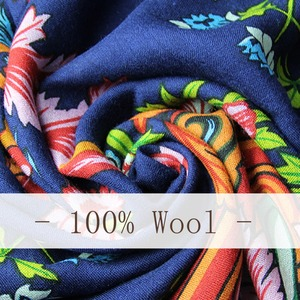 Image 5 - 2019 Wool Square Head Scarves Women Elegant Lady Carf And Warm Shawl Long Animal Print Stoles Bandana Scarf Hijab Beach Blanket