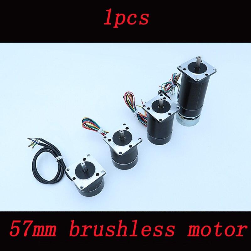 1pcs 57mm Brushless Motor 3 phase 4 pole Motors for ROV Underwater Robot Engine Replacement 57BL Brushless 36V 4000rpm