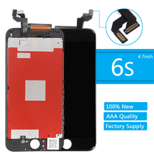 for iPhone 6S 3D Touch Screen High Quality LCD Display for iPhone 6S Digitizer Assembly Repair Replacement Screen With Frame yelping 3 in 1 grade a quality for iphone 6s lcd frame touch pad free gift digitizer assembly