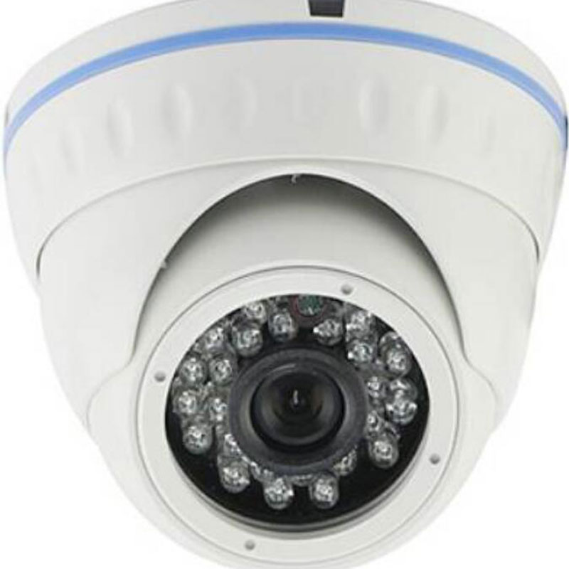 "H.265 Surveillance IP Camera Network CCTV Out/Indoor <font><b>24</b></font> IR Led Night Vision Metal Dome Security Camera <font><b>1</b></font>/2.<font><b>7</b></font>""CMOS 1080P/2.0MP"