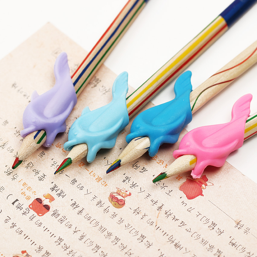 20 PCS Learning Partner Children Students Stationery Pencil Holding Practise Device For Correcting Pen Postures Grip