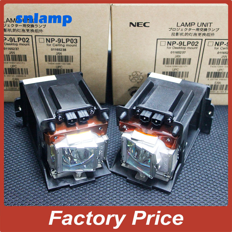 100% Original Projector Lamp with housing NP-9LP01  for  FOR NEC NC900C PH800T NC900C-A NP900C Projectors awo compatibel projector lamp vt75lp with housing for nec projectors lt280 lt380 vt470 vt670 vt676 lt375 vt675