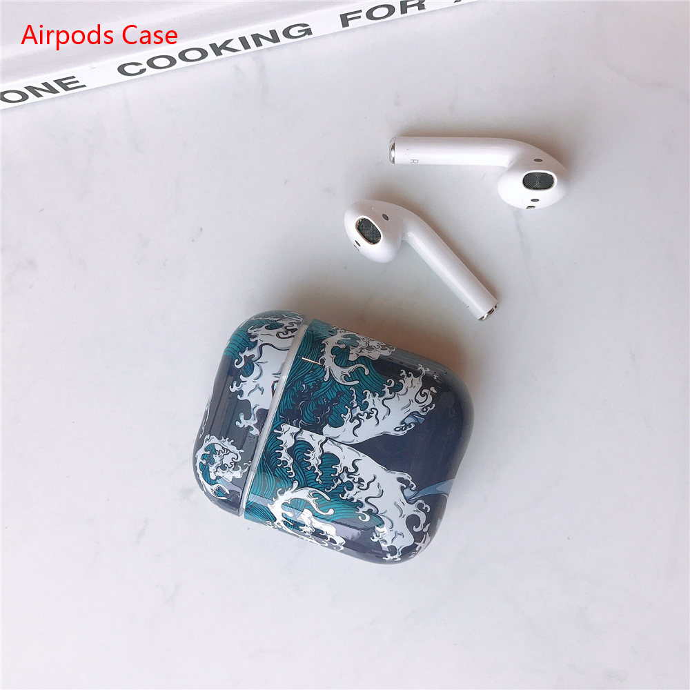 For AirPods Case Bluetooth Wireless Earphone Case For Apple Airpods 2 Cartoon Pattern Protective Air Pods Cover Accessories