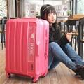 """Горячая! Конфеты цвет мода 23 """" 27 дюйм(ов) девушка тележки чехол ABS студенты прекрасный поездки багаж прокатки чемодан детский интернат окно"""