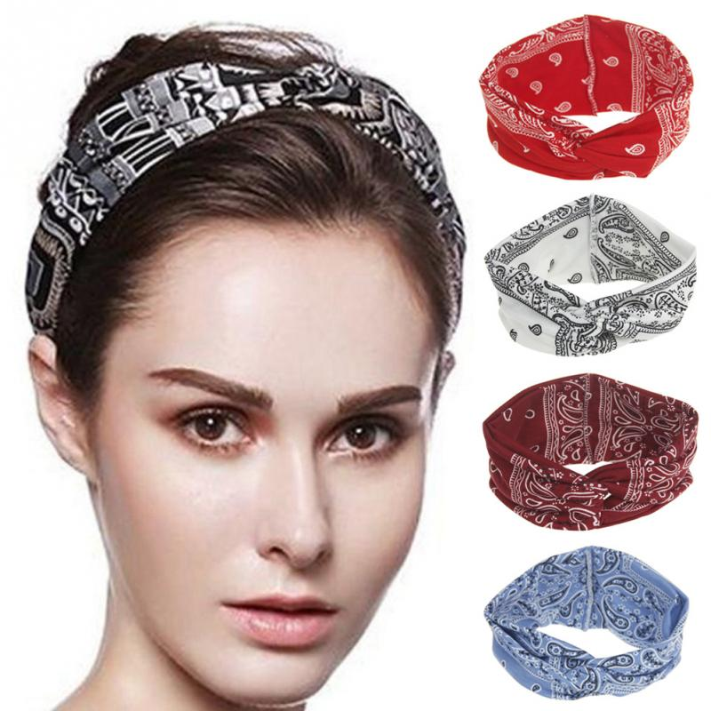 Exercise Hair Bands: Women Sports Yoga Elastic Hair Band Fitness Sports Workout