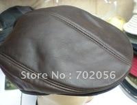 Ewsboy Beret Real Leather Style Flat Cap Hat DEC Cabbie Gatsby 5pcs Lot 2274