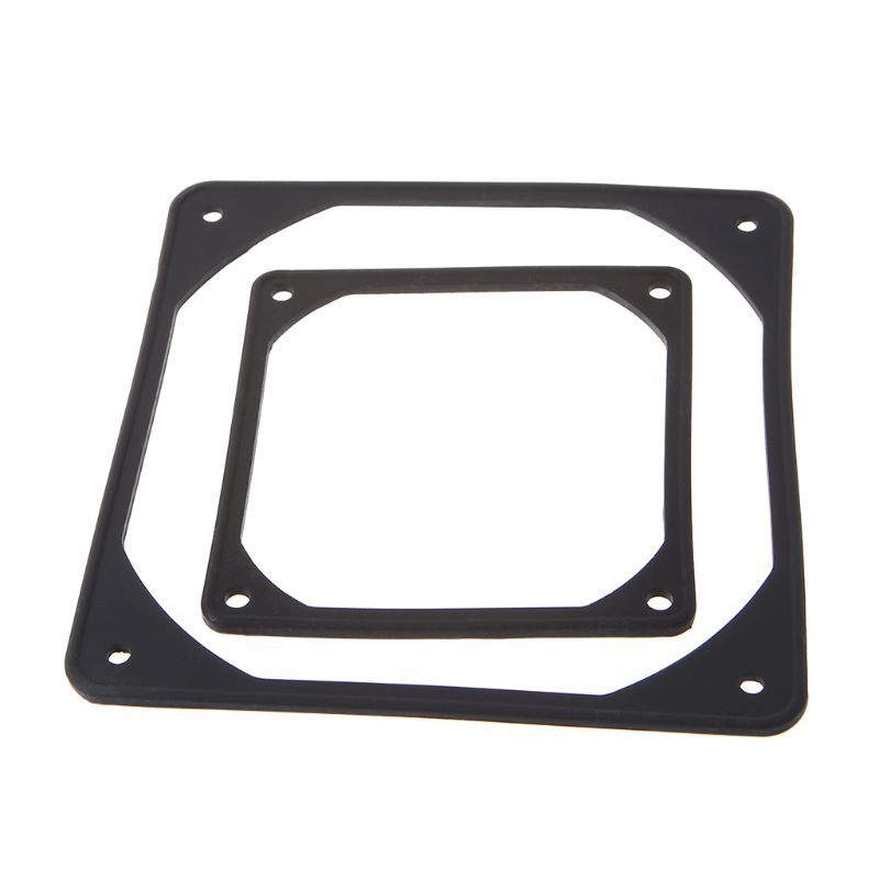 2 Pcs Silicone Shock Absorption Pad Cpu Cooler Fan Cooling Pc Case Anti Vibration Gasket Water Cool Last Style