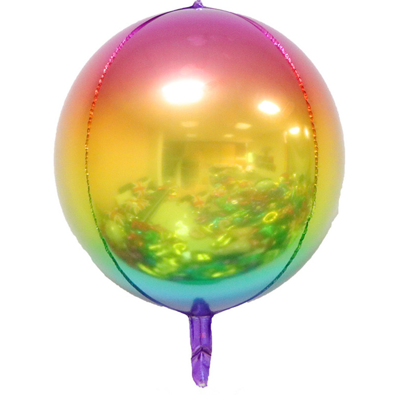 """Iridicent Rainbow 32/"""" Foil Number Balloons for Birthday Party Anniversary"""