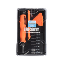 Jakemy JM-8157 Multifunction Repair Tools Kits Opening Tool Ratchet Screwdriver Set Hand Tools Set for iPhone iPad Smartphone