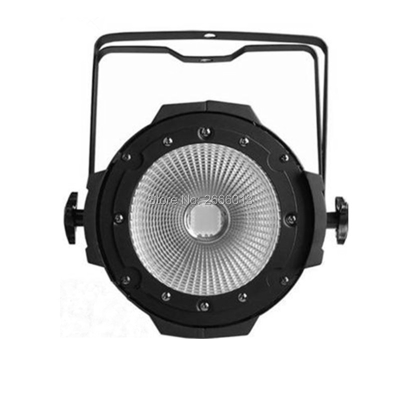 Free&Fast shipping Aluminium Case 100W COB Led par light with cool white and warm white Strobe Effect Stage Lighting free shipping 1piece lot top quality 100% aluminium material waterproof ip67 standard aluminium box case 64 58 35mm