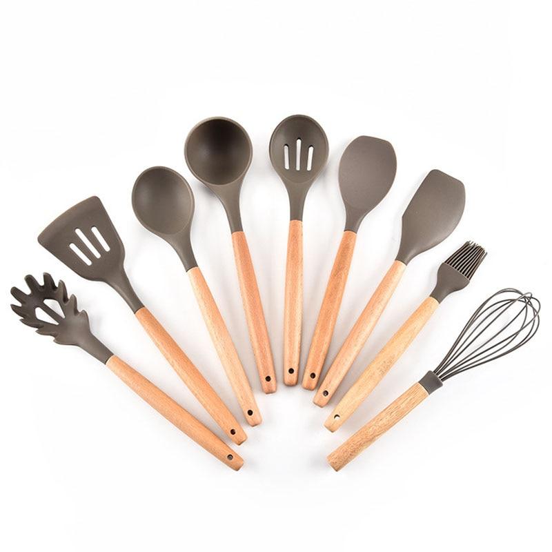 Premium Silicone Cooking Utensil Set 9 Piece font b Home b font font b Kitchen b
