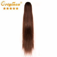 Cheap Brazilian Human Hair Extensions 8″ to 26″ Long Ponytail Clip in pony tail Hair Extensions Claw on Ponytails Hairpieces