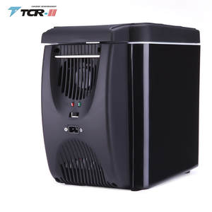 auto fridge Portable Cooler 6L Mini Fridge DC12V Car Refrigerator Student Dormitory