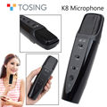 Free shipping!Tosing K8 Wired Handheld Portable Microphone Stereo Player For ios 6S/5S Tablet