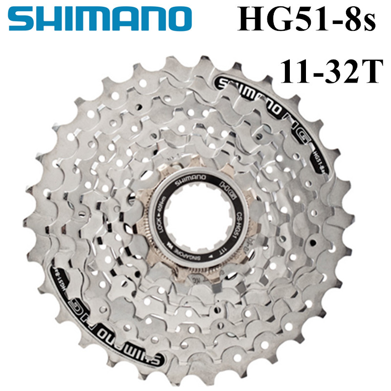 <font><b>SHIMANO</b></font> CS HG51-<font><b>8</b></font> HG41-<font><b>8</b></font> <font><b>HG31</b></font>-<font><b>8</b></font> 8s Freewheel Mountain MTB Bike cassettes cheap mtb bicycle cassette image