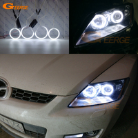 Excellent CCFL Angel Eyes For Mazda CX 7 2006 2012 Ultrabright Illumination Angel Eyes Halo Ring