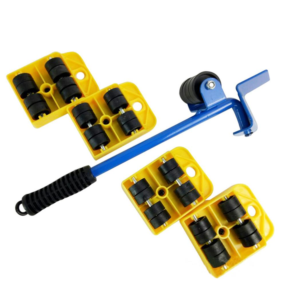 New 5 In 1 Heavy Object Shifter Furniture Shifter Moving Object Heavy Object Moving Tool Home Decoration Accessories