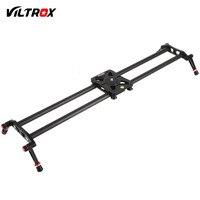 Viltrox VC-80 80 cm 6 Rulmanlar Karbon Fiber DSLR Kamera DV Slider Parça Video Sabitleyici DSLR Kamera için Raylı Dolly
