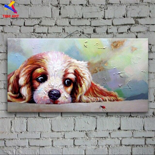 Mascota cuadro pintado a mano abstracta moderna pintura al óleo en ...
