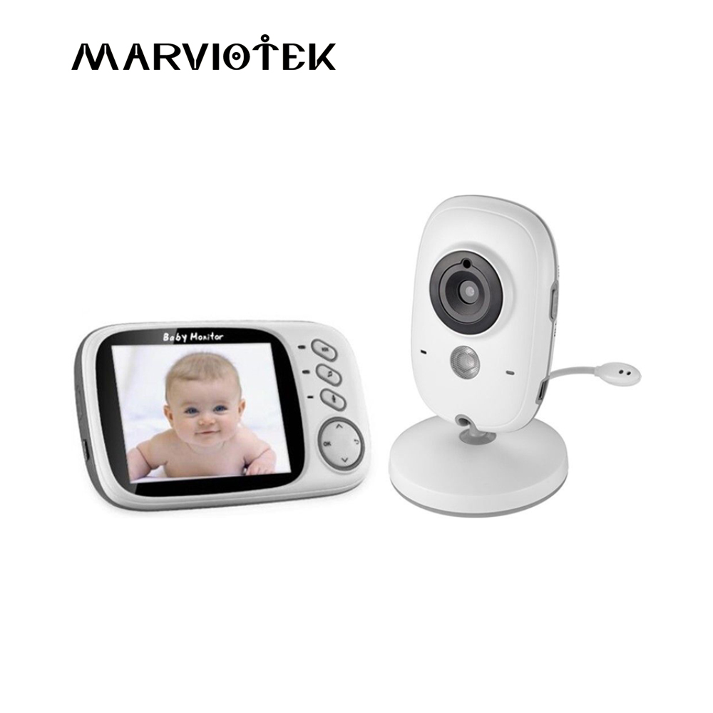 Baby Monitor with camera VB603 3.2 inch LCD Night Vision 2 way Talk 8 Lullabies Temperature monitor video nanny radio babysitter baby sleeping monitor night vision 2 way talk lullaby temperature monitor 2 4 inch lcd digital wireless nanny radio babysitter