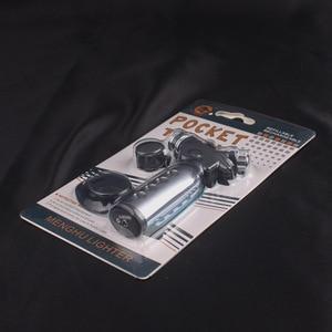 Image 5 - Encendedor Turbo Jet butano, encendedor de cigarrillos a Gas, 1300 C, pistola de pulverización, encendedor a prueba de viento, sin Gas