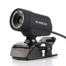 A7220D HD USB Webcam CMOS Sensor Web Computer Camera Built-in Digital Microphone for Desktop PC Laptop for Video Calling
