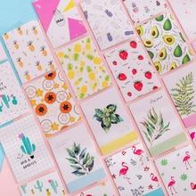 1pcs/lot kawaii Korea creative small fresh painting series Plant pineapple Notebook Stationery student supplies