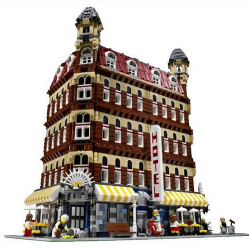 ФОТО 2016 New 2133Pcs 15002 Creators Cafe Corner Model Building Kits  Blocks Kid Toys for Children 10182