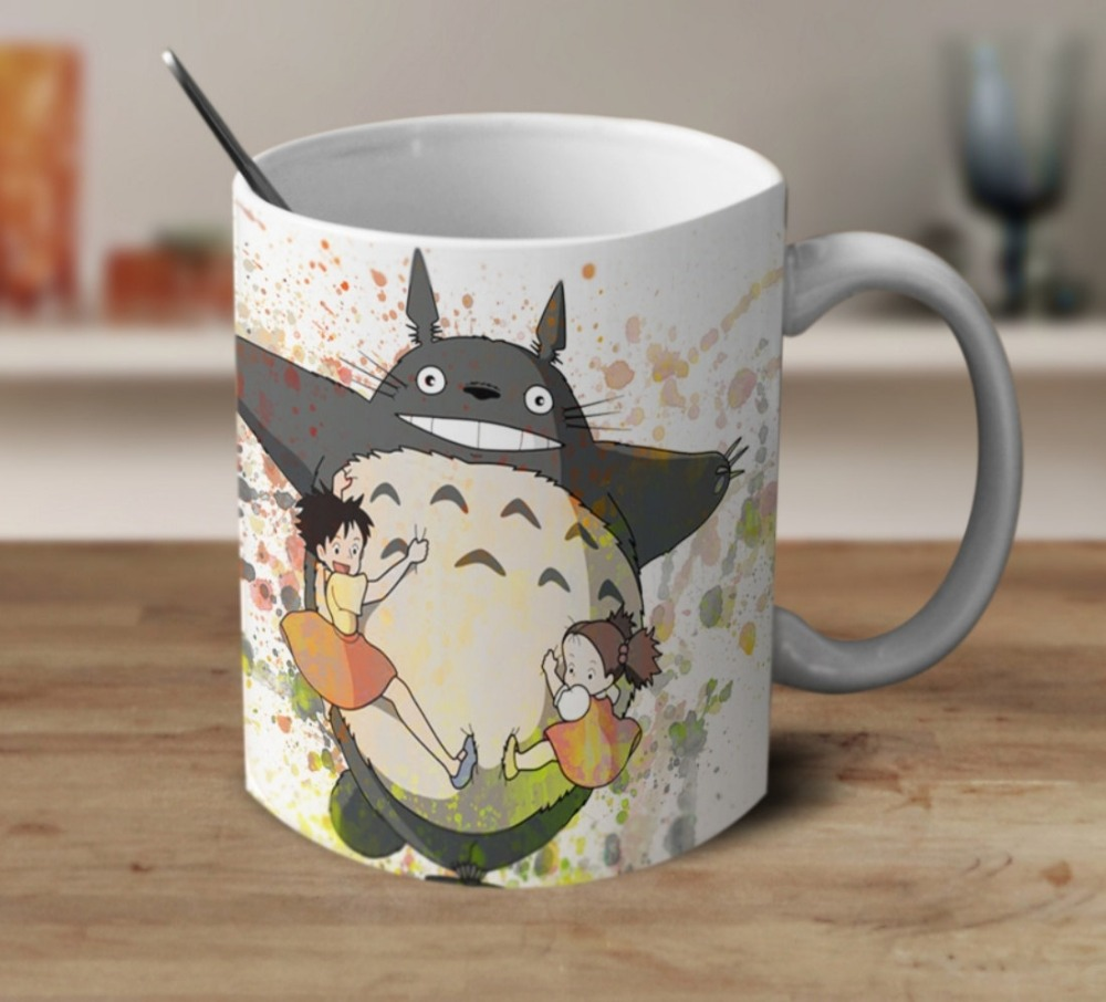 Spirited Away My Neighbor Totoro Mug Cup Home Decal Milk
