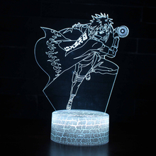 Naruto Uzumaki 3D LED Color Changing Night Light