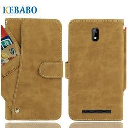 На Алиэкспресс купить чехол для смартфона leather wallet kenxinda kxd w51 case flip retro vintage leather front card slots cases cover business phone protective bags