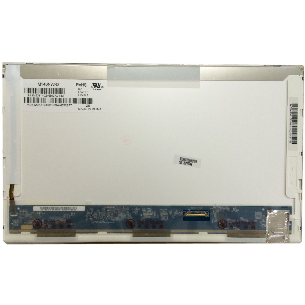 M140NWR2 R0 Fit LP140WH1 TLC1 B140XW01 V.2 For HP 4411S 4416s 511 4421S Laptop