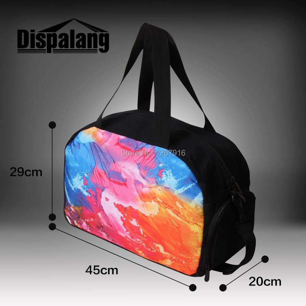 Dispalang Flower Skull Printing women s overnight travel bag ladies travel  handbags large luggage bag for men Sporty duffel bags-in Travel Bags from  Luggage ... 27f266bdd920d