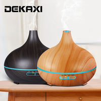 300ml Electric Essential Oil Diffuser Air Humidifier Aromatherapy Diffuser Mist Maker With Color Changing Light For Bedroom