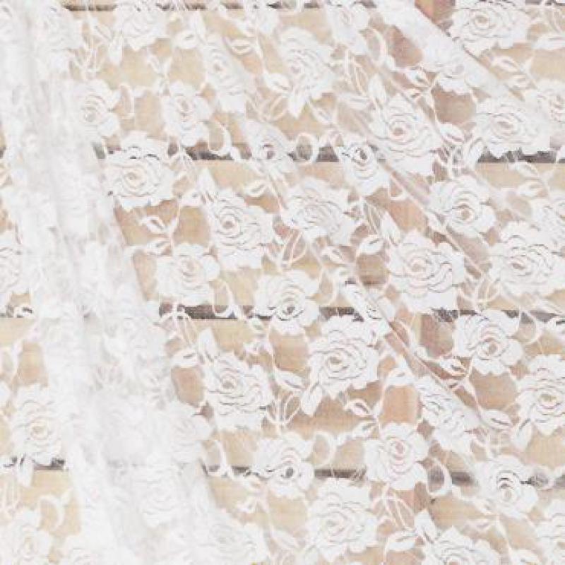 Trecho de Renda Branca Blusa Material de Cortinas de Tecido para Vestidos De Noiva Saia de Tule Preto 2018 de Alta Qualidade Flores De Tela Kumas