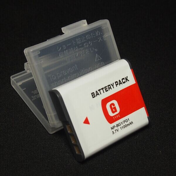 NP BG1 Battery For SONY Cyber shot DSC W30 DSC W35 DSC W50 DSC W55 DSC
