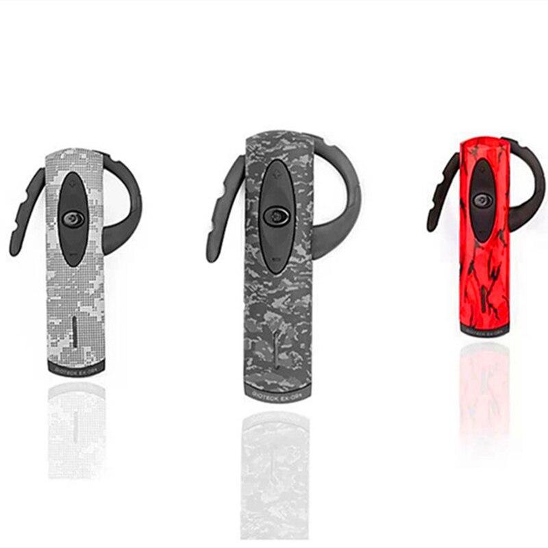 Marca EX02 Videojuegos Auricular Bluetooth Estéreo con Negro/Rojo/Camuflaje Del