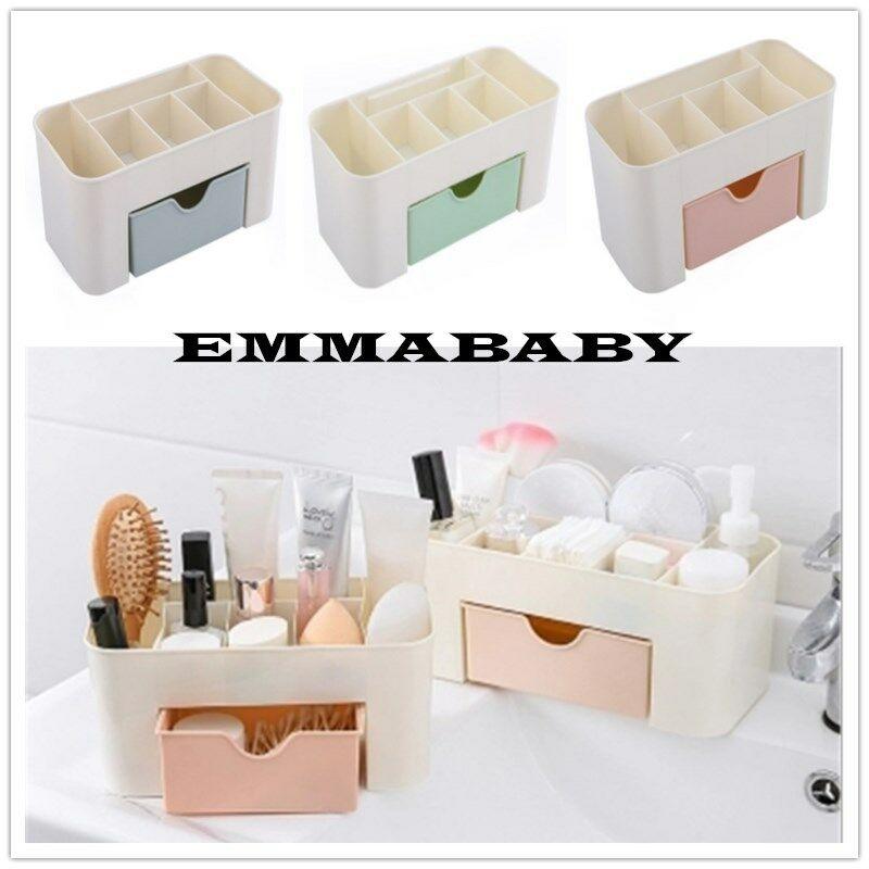 Acrylic Cosmetic Makeup Box Storage Case Jewelry Box Drawer Holder Clear Storage Organizer Case Jewelry