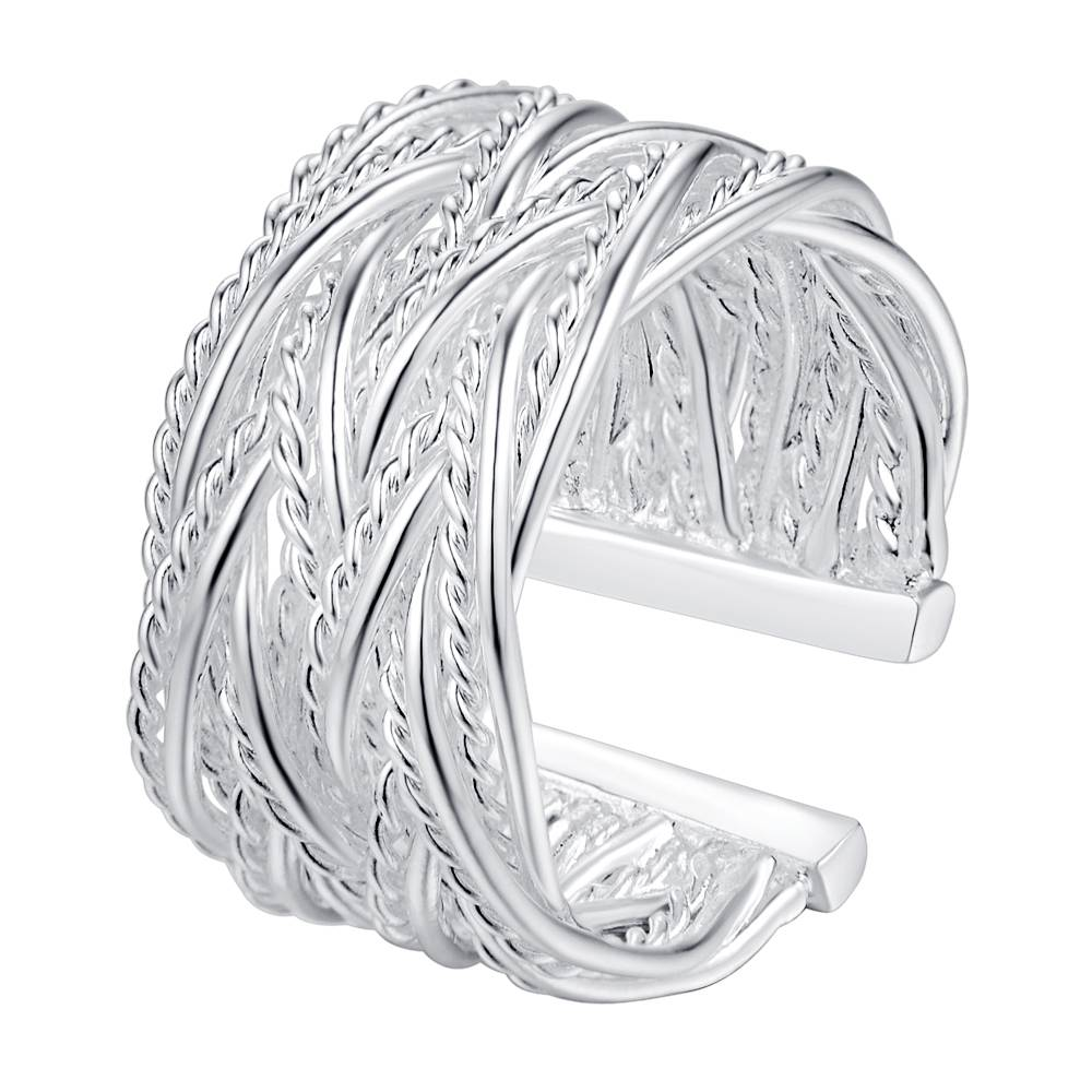 r023 new creative Specials silver plated high quality rings fashion cute women classic j ...