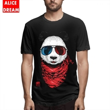 Boy The Happy Adventurer In 3D Now T shirt Casual Panda Tee Rock Roll T-Shirt 100% Cotton S-6XL Plus Size Tee Shirt