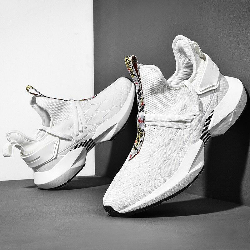 Лидер продаж унисекс Мужские кроссовки 9908 2019 Высокая Повседневная обувь; удобная дышащая обувь для него и для нее любителей кроссовки homme
