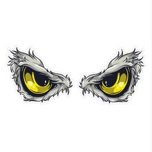1 Pair Car Sticker for Rearview Mirror Auto Bird Hawkeye Eagle Eyes eye Vinyl Windows Styling Decal