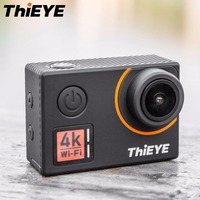 ThiEYE T5 Edge 4K WiFi Action Camera 170 Degree Wide Angle Lens 2 LCD Cam 1080P