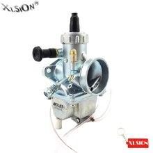 XLSION 26 мм Molkt Carb Карбюратор для 125cc 140cc 150cc Lifan YX Zongshen Pit Dirt Bike Stomp Thumpstar Atomic DHZ SSR