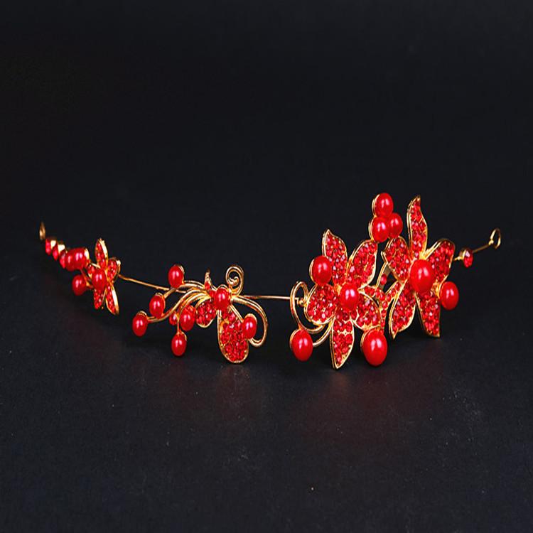 HTB1p8OoPVXXXXXmXFXXq6xXFXXX8 Luxury Silver/Gold Rhinestone Pearl Jewel Flower Hair Accessory For Women - 2 Colors