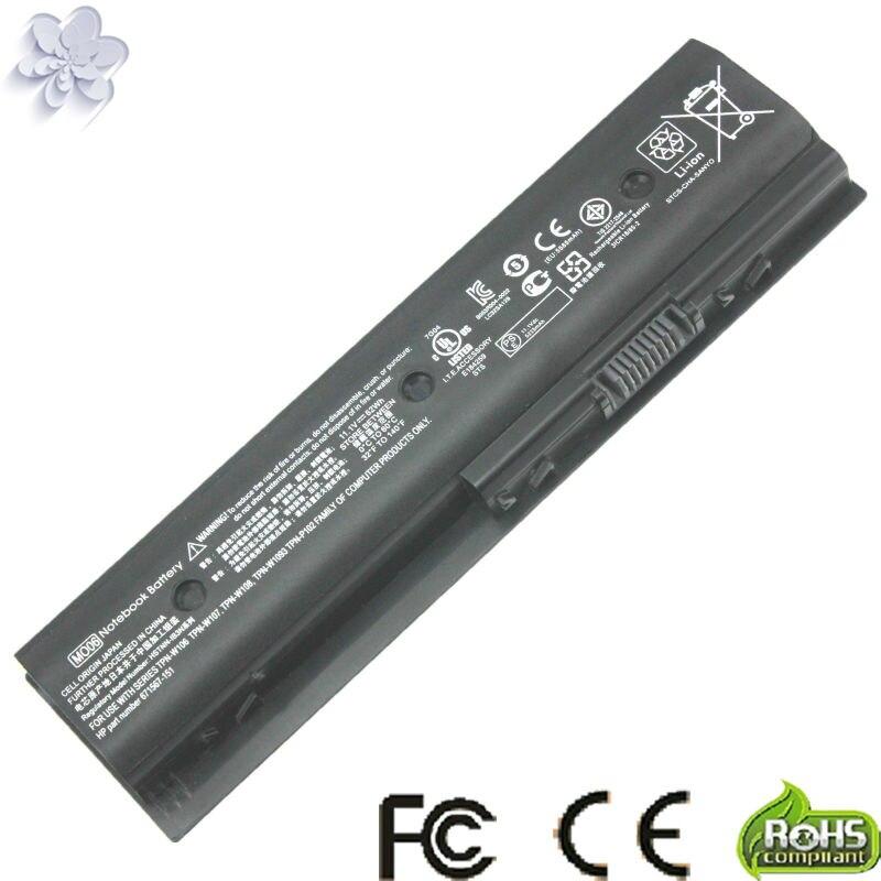 Batería de ordenador portátil para HP envidia dv4 dv4-5200 dv6-7200 m6 pabellón dv4 dv4-5000 dv6-7000 MO06 H2L55AA