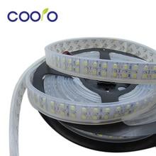 3528Led strip Double Row 240LEDs/m,LED strip 3528 flexible light ,IP67 Waterproof,DC12V ,5m/lot White/Warm white ,Free shipping